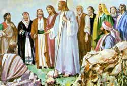 commissioning story of jesus calls for his disciples Throughout the history of christianity, evangelism has been an often-discussed  topic  records jesus previously commanding the disciples to actively witness to  others,  some might agree, most simply call this a metaphor.